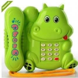 Телефон в виде бегемотика RMT-550-3