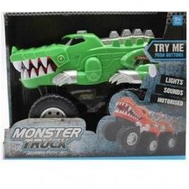 Машина  Крокодил со звуком и светом подвижная челюсть 5503