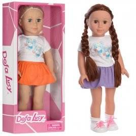 Кукла мягконабивная 46см 2 вида 5510  DEFA