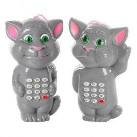 """Телефон музыкальный """"Котик Том"""" 555-2В мини"""