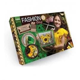 Уценка! Набор для творчества Fashion Bag сумка вышивка лентами и бисером Подсолнухи 01-01