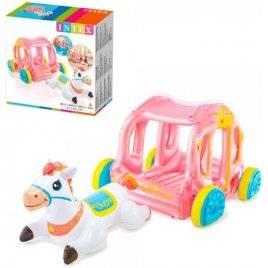 Игровой центр Карета принцессы с лошадкой 56514 Intex