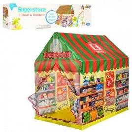 Палатка домик магазин  M 5687 на колышках