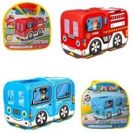 Палатка машина детская Автобус в сумке M 5783