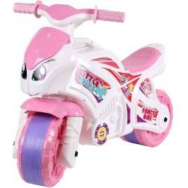 Мотоцикл байк толокар для девочек розовый ТехноК 5798