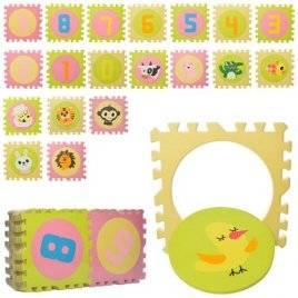 Коврик-пазл для  детей Зоопарк 5802