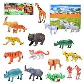 Набор фигурки животных Дикие 581 большой набор