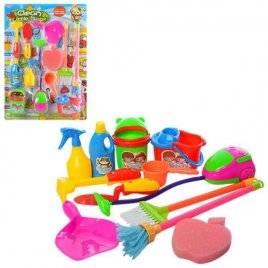 Набор для уборки пылесос + 11 предметов 58104B