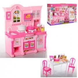 Мебель для кукол Кухня с музыкальными и световыми эффектами 5818