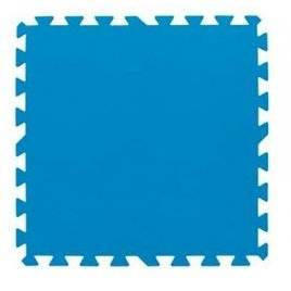 Коврик пазл одноцветный для бассейна 500-500*4 мм 8 пластин 58220 Bestway