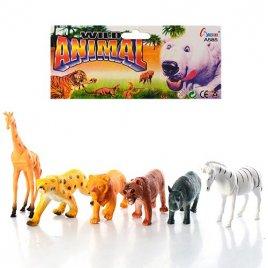 Животные дикие 6 штук A 585
