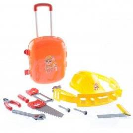 Инструменты детские с каской в чемоданчике 5866 Технок