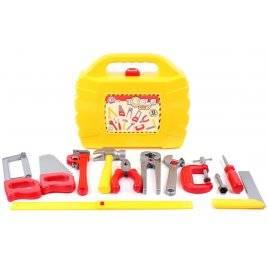 Набор инструментов в чемодане желтом 5880 ТехноК