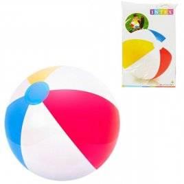 Мяч для бассейна надувной Полоски 51 см 59020 Intex