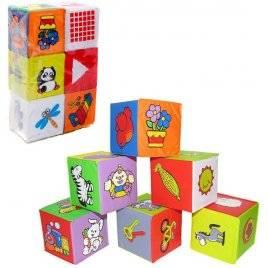 Кубики для купания мягкие 6 штук 5930