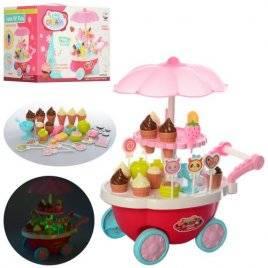 Магазин-тележка с мороженым с музыкой и светом 5962