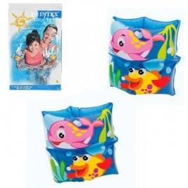 Нарукавники детские с морскими животными 59650 Intex