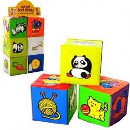 Кубики для купания мягкие 6 штук 5967