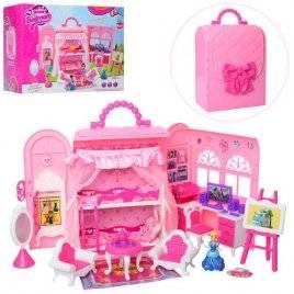 Домик для кукол Гламурный в чемодане 5988