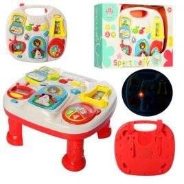 Игровой центр столик развивающий с музыкальными и световыми эффектами 599