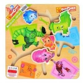 Лабиринт деревянная игрушка Фиксики  GT6029
