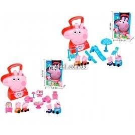 Мебель для Свинки Пеппы в чемодане PP 6040 А1/А2