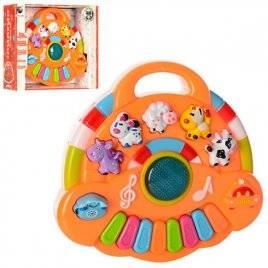 Пианино детское обучающее со звуковыми и световыми эффектами 6055B