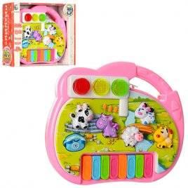 Пианино детское Светофор и животные 6091