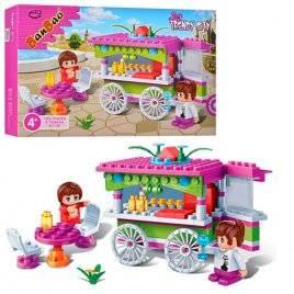 Конструктор для девочек бар на колесах 6118 BANBAO