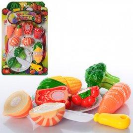 Продукты на липучках Овощи Как настоящие 614В на планшете