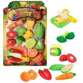Продукты на липучках Овощи 615B на планшете