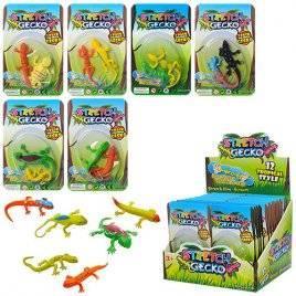 Ящерицы игрушки 8,5 см 2 штуки 617B в дисплее
