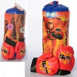 Боксерский набор груша и перчатки M 6205