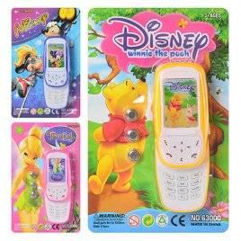 Телефон музыкальный Слайдер Мультики 6300 Q