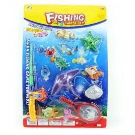 Рыбалка с удочкой и сачком 12 рыбок 6301Fun Toys
