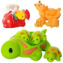 Пищалки для купания Рыбки, Черепахи или Бегемоты 6327