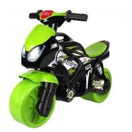Байк мотоцикл с музыкальными и световыми эффектами зеленый 6474 ТехноК