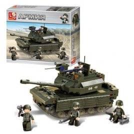 Конструктор армия танк 312 деталей M38-B6500 SLUBAN