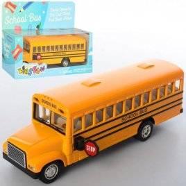 Автобус KINSMART металлический инерционный KS 6501 W