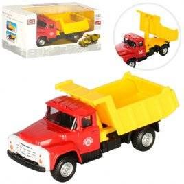 Машинка инерционная грузовик Газон открытый 6517 1:52 Play Smart