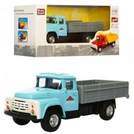 Машинка металлическая инерционная грузовик 1:52 6518D Play Smart