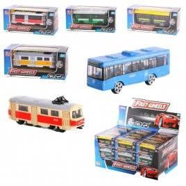 Автобус, трамвай или троллейбус мини 7 видов 6591W
