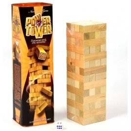 Игра деревянная Башня Power Tower PT-01 Данко Тойс