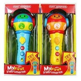 Микрофон детский с музыкой и светом В наушниках ZD658-58