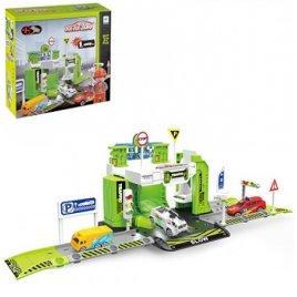 Гараж игрушка Техника 37 деталей 660-A78 зеленый