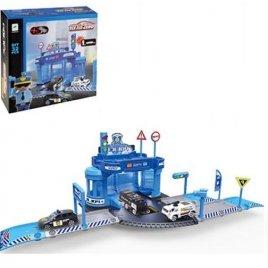 Гараж игрушка Полиция + 3 машинки 660-A80
