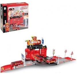 Гараж игрушка Пожарные 32 детали 660-A81