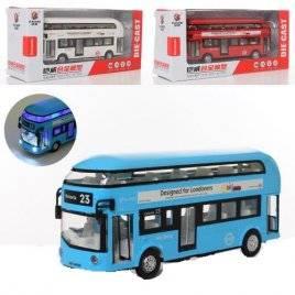 Автобус двухэтажный с музыкой и светом MS6609N