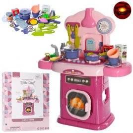 Кухня детская с мойкой световыми и звуковыми эффектами 661-507
