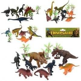 Набор динозавров  5 штук EM664-6-5-4-7